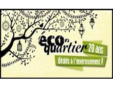 Page web dédiée au 20 ans du programme éco-quartier!