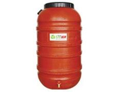 Barils de récupération d'eau de pluie
