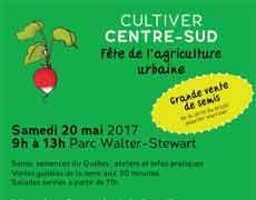 Cultiver Centre-Sud – Fête de l'agriculture urbaine