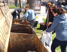 Ateliers compostage communautaire et distribution de compost
