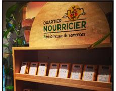 Quartier nourricier: Bibliothèque de semences et partage de témoignages