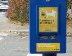 Votre avis sur les distributeurs de sacs pour les besoins des chiens