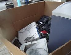 Grande collecte de produits électroniques