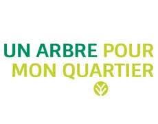 Logo de la campagne Un arbre pour mon quartier