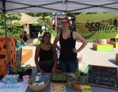 Les derniers kiosques de sensibilisation de l'été à la Place du Marché