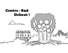 Manif à vélo de Centre-Sud Debout! pour le droit au logement