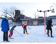 Le Laboratoire de l'Hiver vous invite à réinventer l'hiver au parc Médéric Martin!