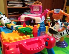 Vos jouets en bon état pour des enfants du quartier!